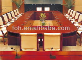 Large Oval Boardroom Table 6m Or 8m Big Large Oval Shaped Conference Table With Wire Outlet