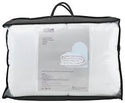 Home Design 5 Zone Memory Foam by Bedgear Balance Boost 2inch Full Mattress Topper In White Wtc