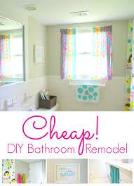 Cheap Diy Bathroom Renovations Diy Bathroom Remodeling Ideas For This Winter Vintage Inspired Diy