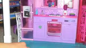 Barbie Dolls House Furniture Barbie Dream House 2013 Doll House Tour Youtube