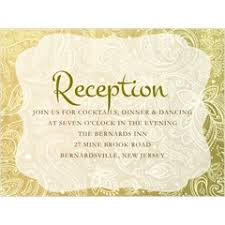 reception card quinceanera reception cards storkie
