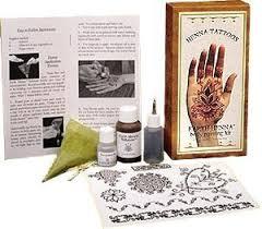 henna tattoo kit on the hunt