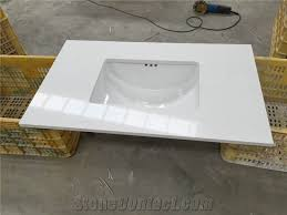 Vanity Bathroom Tops Quartz Bathroom Vanity Tops Home Design Ideas And Pictures