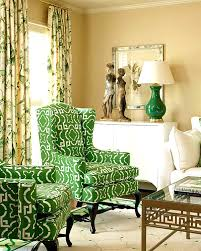 Green Chairs For Living Room Chairs Extraordinary Green Living Room In Architecture 14