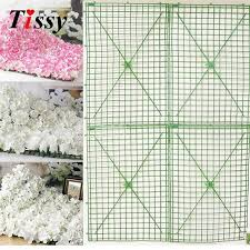 wedding arches supplies aliexpress buy 5pcs 60x40cm plastic flower row flowers bent