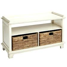 entryway bench with baskets and cushions bench hall storage bench with baskets ireland coaster entryway