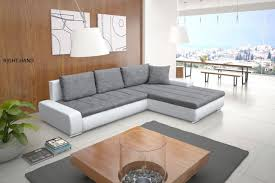 Corner Sofa In Living Room by New Cascina Fabric Corner Sofa Bed With Storage In Black Grey Or