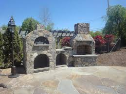 Pizza Oven Fireplace Combo outdoor pizza ovens