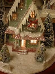 643 best glitter houses images on pinterest putz houses