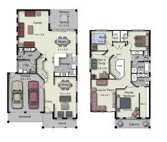 floor plans for a 4 bedroom house duplex small house design floor plans with 3 and 4 bedrooms