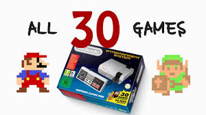 all 30 games for nintendo classic mini youtube