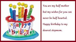 happy birthday wishes for step mother birthday messages quotes