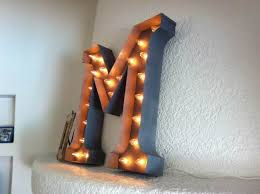 light up letters diy diy light up letters marquee letters says under 100 letter sorta
