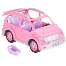barbie red cars you u0026 me happy together minivan toys
