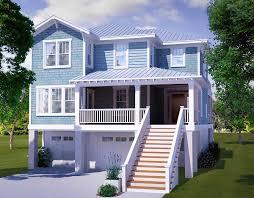 plan 15035nc narrow lot beach house plan house plans beaches
