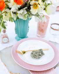 18 creative ways to set your reception tables martha stewart