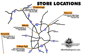 Oregon Vortex Map by Atlantis Hydroponics Chattanooga Tennessee Tn 37408 Hydroponic
