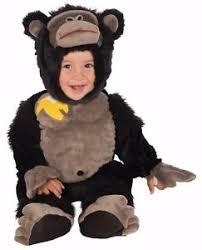 Gorilla Halloween Costume Kids Gorilla Costume Infant Size Harambe Black Monkey Halloween