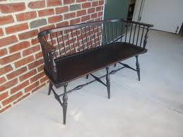 primitive low back windsor settee great windsor chairs