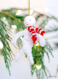 pipe cleaner ornaments diy project ideas spunnys