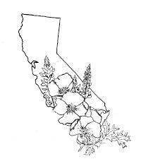 california map outline 5 wonderful california designs