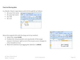 excel introduction outline ppt download