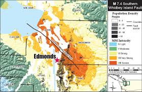 Oregon Tsunami Map by Puget Sound Under Pressure By Brian Soergel Edmonds Wa