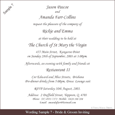 Unique Wedding Invitation Wording Samples Wedding Invitation Wording Examples Stephenanuno Com