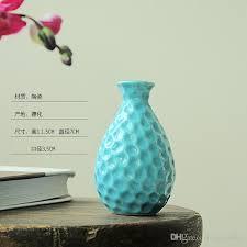 new type of glazed ceramic home decoration vase dolomite tabletop