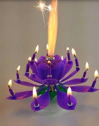 lotus birthday candle amazing purple lotus flower birthday candle exciting candle