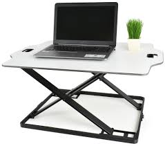 Adjustable Standing Sitting Desk Desk V000hwhite Height Adjustable Standing 32 Desk Sit Stand