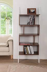 furniture of america enitial lab medies modern bookcase display