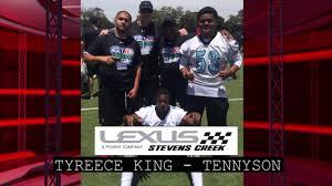 lexus of stevens creek team volunteer award tyreece king tennyson youtube