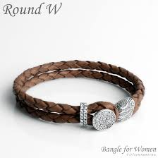 leather women bracelet images Women 39 s bracelet round w j81 cloisonnekorea jpg