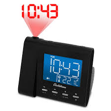 amazon com electrohome eaac601 projection alarm clock with am fm