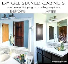 staining kitchen cabinets without sanding gel stain kitchen cabinets how to use gel stain maintain wood grain