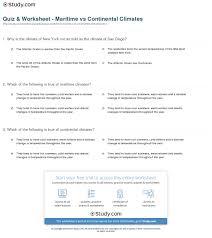 climate vs weather worksheet worksheets
