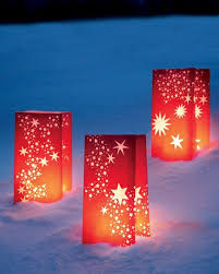 Christmas Decorations Outdoor Lanterns by 18 Best Farolitos U0026 Luminarias Images On Pinterest Christmas