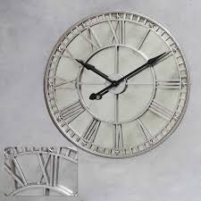 best 25 silver wall clock ideas on pinterest silver walls wall