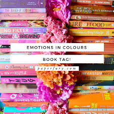 """Emotions In Colours Book Tag Ft Me Living Up To My """"Fury"""" Name"""