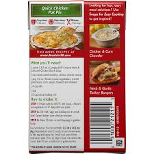 campbell u0027s soups for easy cooking creamy herb u0026 garlic 14 5oz