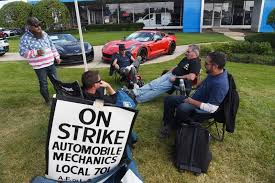 Big Chair Auto Repair No Joy In Strike Auto Mechanics Say