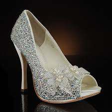 sparkly shoes for weddings my glass slipper wedding shoes bridal shoes dyeable wedding
