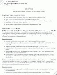 12 Amazing Education Resume Examples by Writing A Teacher Resume Sample Resume Secondary English Teacher