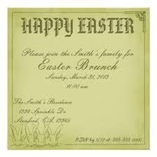 easter brunch invitations easter brunch invitations announcements zazzle