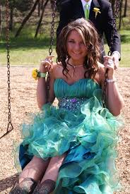 cowboy boots look great with a prom dress another day at the