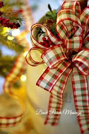 christmas ribbon bows christmas decorating essential checklist christmas celebration