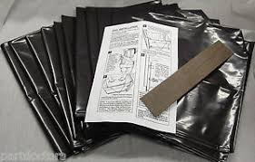 Garbage Compactor Bags New 144 Pack Broan 12 Inch Plastic Trash Compactor Bags 93620008