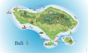 bali indonesia map travel bali indonesia