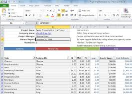 Excel Project Templates Use This Excel Spreadsheet For Project Management Lifehacker